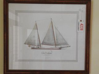 Lot # 4228 - Framed print of the Edna Lockwood