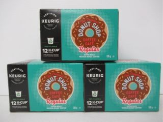 3  K Cup Original Donut Shop Coffee 12 Pk Medium