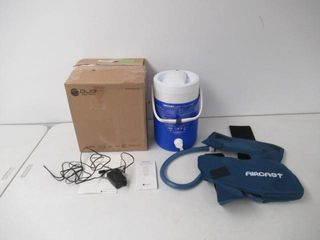 Used  Aircast Knee Cryo cuff With Ic Cooler