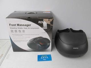 As Is  RENPHO Foot Massager Machine w  Heat