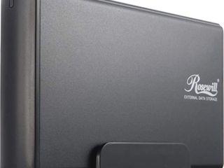 Rosewill RX35 AT IU BlK Aluminum 3 5  IDE to USB