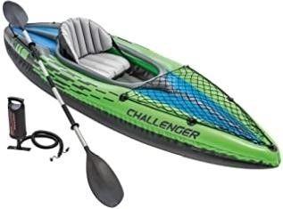 Intex Challenger K1 Kayak  1 Person Inflatable