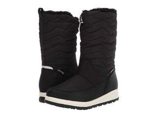 Kamik Women s 7 M US Chrissy Zip Boots  Black