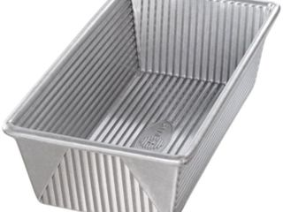 USA Pans 8 5 x 4 5 Inch Aluminized Steel loaf Pan