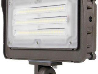 Kadision 50W  250 Equiv  lED Flood light  Dusk to