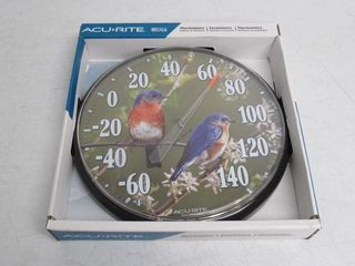 As Is  AcuRite 01598A1 12 5 Inch Wall