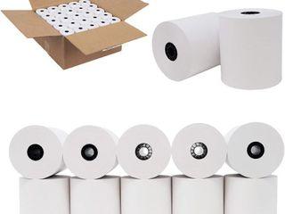 3  x 150  1ply Grade A Bond Paper Receipt Rolls