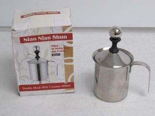 Used  Manual Milk Frother  Delaman Stainless