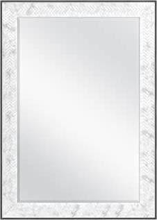 MCS 66946 Chevron Mirror  Marble