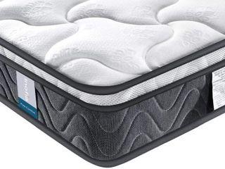 Twin Mattress Inofia 8 Inch Hybrid Foam Spring