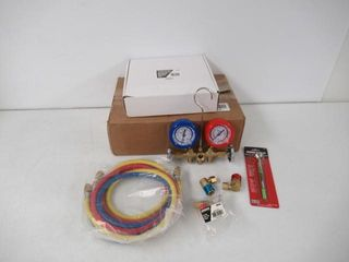 OEM TOOlS 68991 A C Service Set  with Air Vacuum