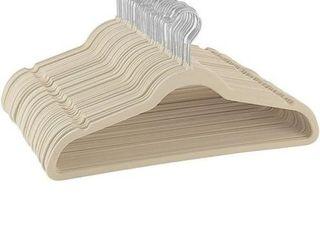 Zober 100 Pk Ultra Thin Velvet Hangers