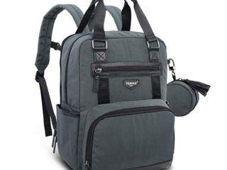 Hamfall Diaper Backpack   Waterproof large Travel