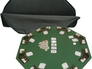 Trademark Deluxe Poker Blackjack Table Top w