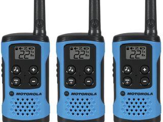Motorola T100TP Talkabout Radio  3 Pack