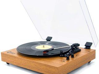 Retro Record Player for 33 45 78 w  Bluetooth
