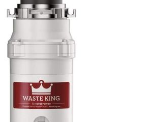 Waste King l 1001 1 2HP 2600RPM Food Waste