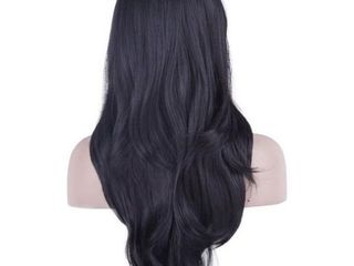 DAOTS 28  Wig long Heat Resistant Big Wavy Hair
