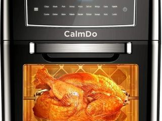 CalmDo 12l Air Fryer  Convection Oven  Toaster