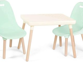 B Toys Kids Furniture Set   Craft Table  2 Chairs