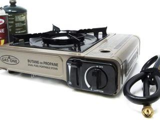 GasOne New GS 3400P Dual Fuel Portable Propane and