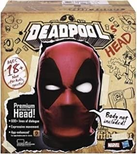 Hasbro Marvel legends Deadpools Head Premium