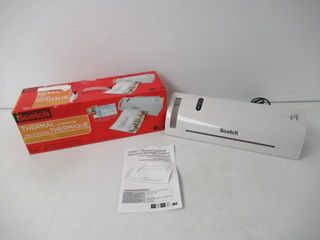 As Is  Scotch Thermal laminator Machine  5 Minute