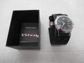 Used  VDX051K Nemesis watch with Black Vintage