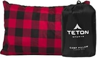 TETON Sports Camp Pillow; Great for Travel,