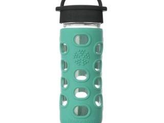 lifeFactory Glass Bottle 12oz  Turquiose