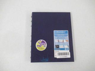 Blueline MiracleBind Notebook  Purple  9 25 x 7 25