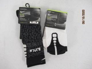 lot Of  2  Nike Small Basketball Socks