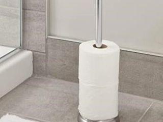 iDesign York Metal Toilet Tissue Roll Reserve for