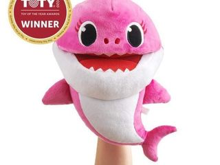 Pinkfong Baby Shark Song Puppet with Tempo Control
