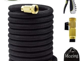 Mozing 25  Expandable Garden Hose w  3 4  Solid