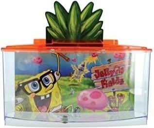 Penn Plax Spongebob Betta Goldfish Fish Tank