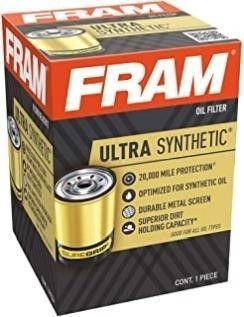 FRAM Ultra Synthetic XG7317  20K Mile Change