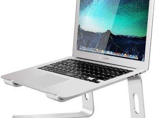 Soundance Aluminum laptop Stand for Desk Silver