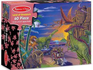 Melissa   Doug land of Dinosaurs Jigsaw Puzzle