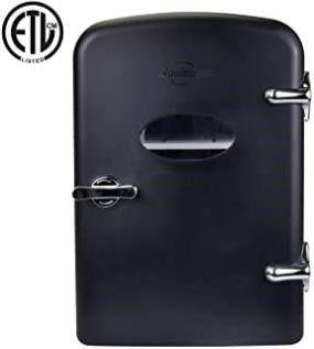Koolatron AC DC Retro Electric Mini Cooler   4 2