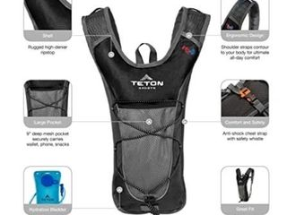 TETON Sports TrailRunner 2 0 Hydration Pack