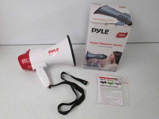 As Is  Pyle Megaphone Speaker lightweight