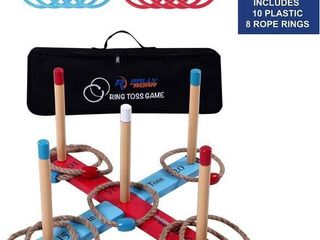 Outdoor Ring Toss Game by Rally and Roar for
