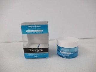 Used  Neutrogena hydroboost facial gel cream for