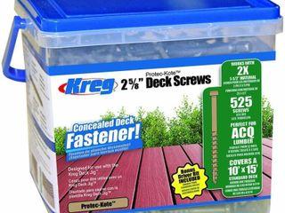 Protec Kote Kreg 2 5 8  Deck Screws