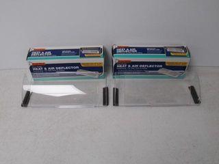 (2) Frost King HD5 Heat Deflector, Multi-Purpose,