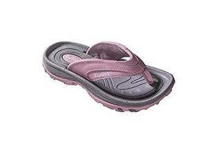 ZORIZ FM50950 Men s 9 M US Golf Sandal  Grey Pink