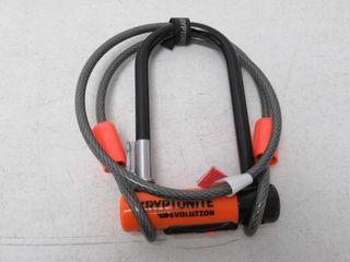 As Is  Kryptonite Evolution Bike lock  Orange