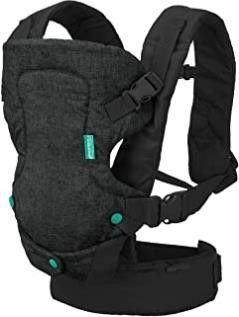 INFANTINO Flip 4 in 1 Convertible Carrier   Black