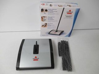 Used  Bissell Natural Sweep Dual Brush Sweeper